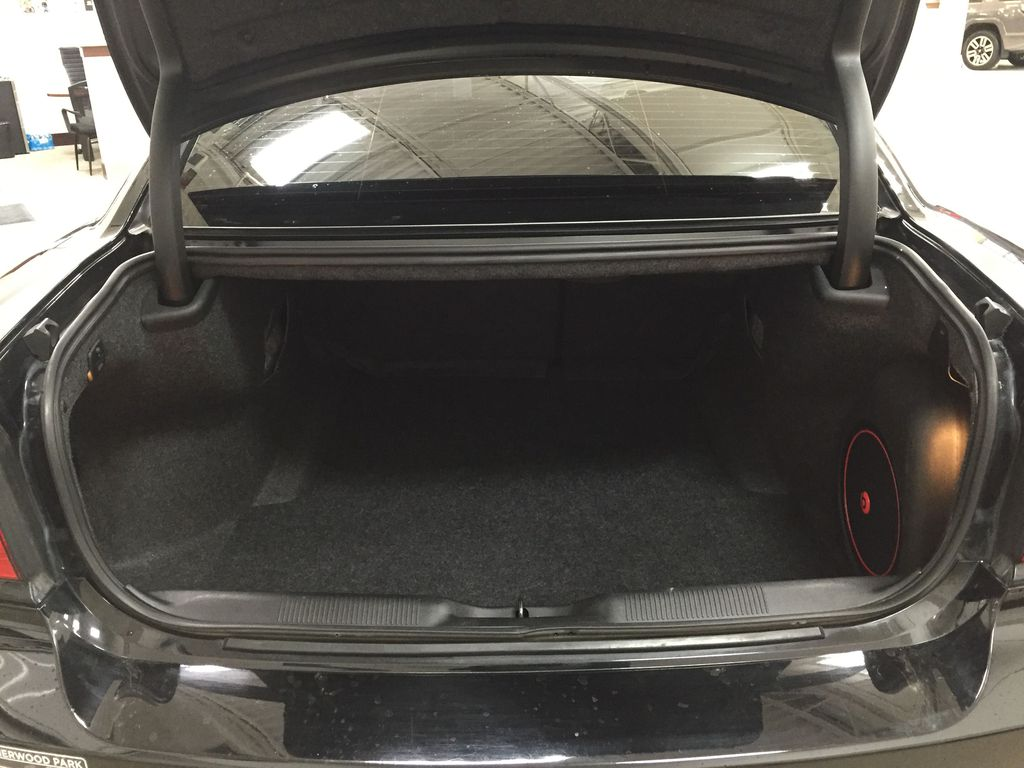 Black[Phantom Black Tri-Coat Pearl] 2014 Dodge Charger R/T LEATHER SUNROOF Cargo Area/Rear Seats Photo in Sherwood Park AB
