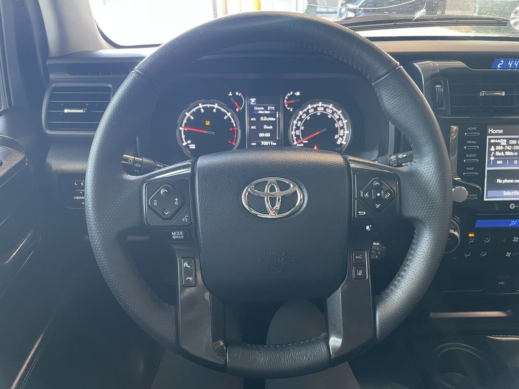 White 2020 Toyota 4Runner 4DR 4WD Left Front Head Light / Bumper and Grill in Edmonton AB