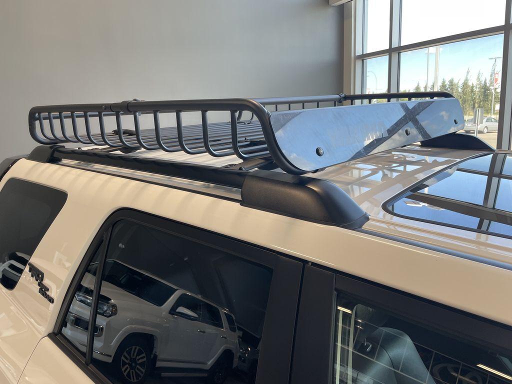 White 2020 Toyota 4Runner 4DR 4WD Rear Seat Photo in Edmonton AB