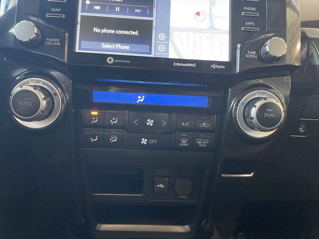 White 2020 Toyota 4Runner 4DR 4WD Steering Wheel/Instruments Photo in Edmonton AB