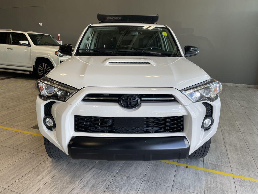 White 2020 Toyota 4Runner 4DR 4WD Odometer Photo in Edmonton AB