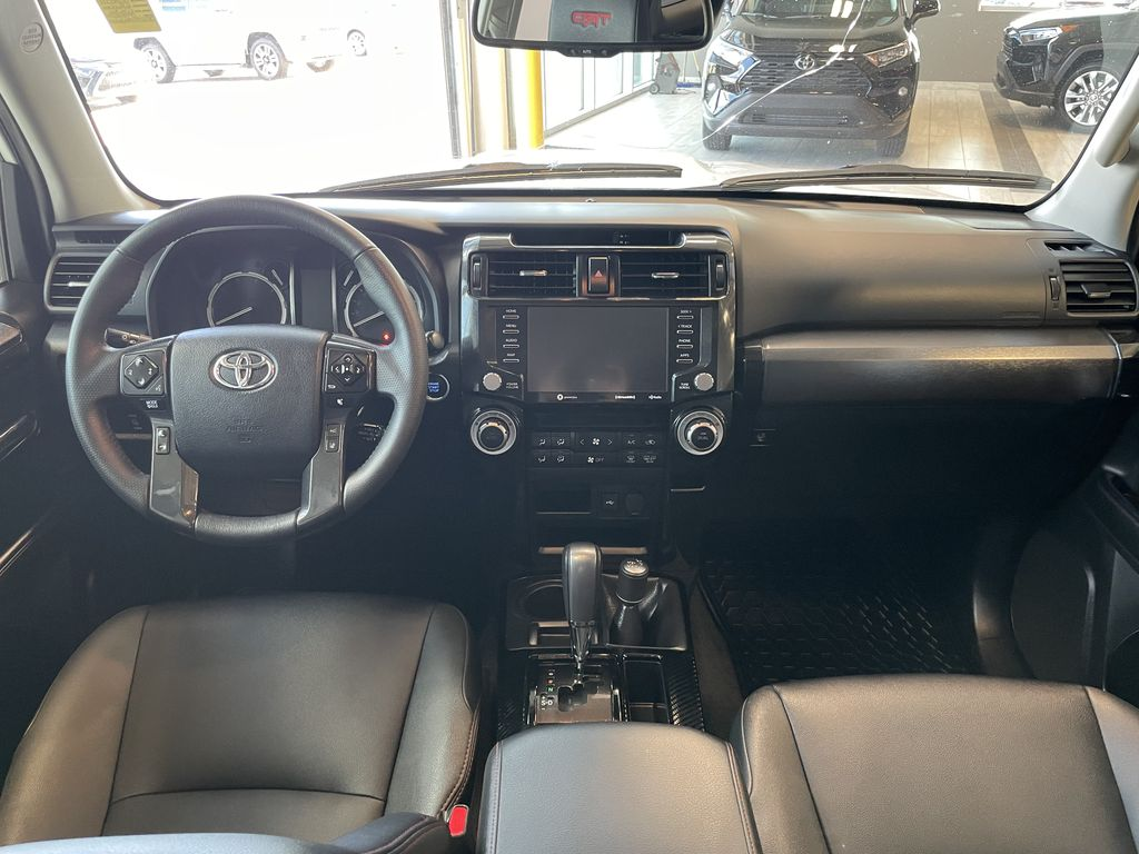 White 2020 Toyota 4Runner 4DR 4WD Fourth Row  Seat  Photo in Edmonton AB