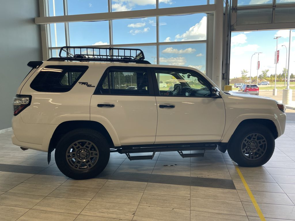 White 2020 Toyota 4Runner 4DR 4WD Right Rear Corner Photo in Edmonton AB