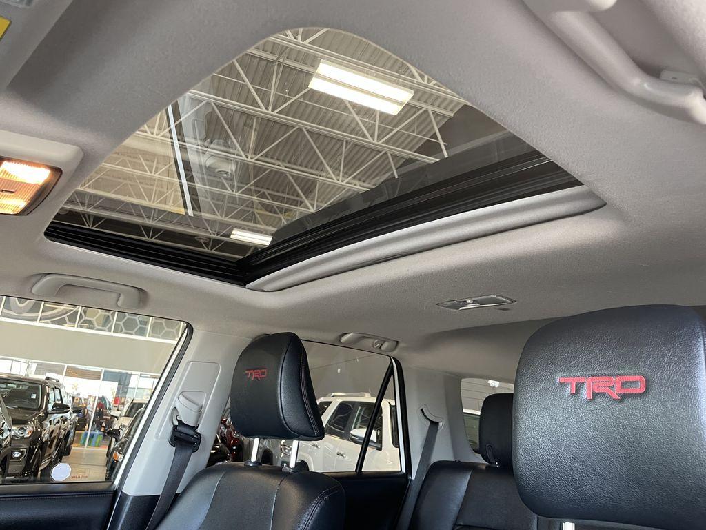 White 2020 Toyota 4Runner 4DR 4WD Audio/Video Photo in Edmonton AB