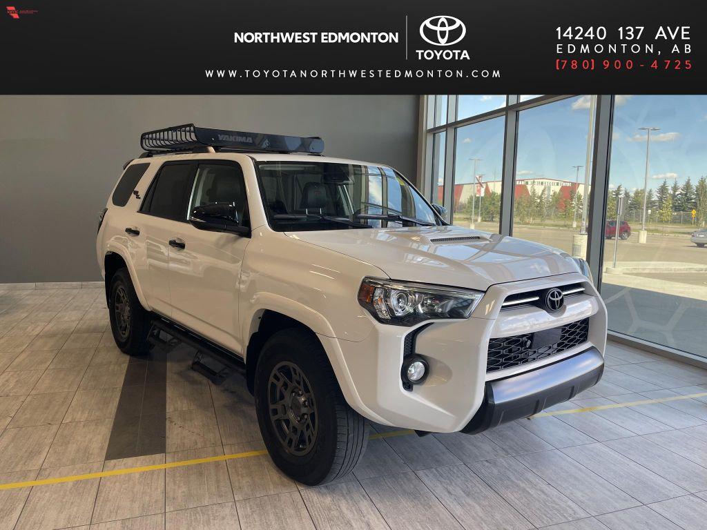 White 2020 Toyota 4Runner 4DR 4WD