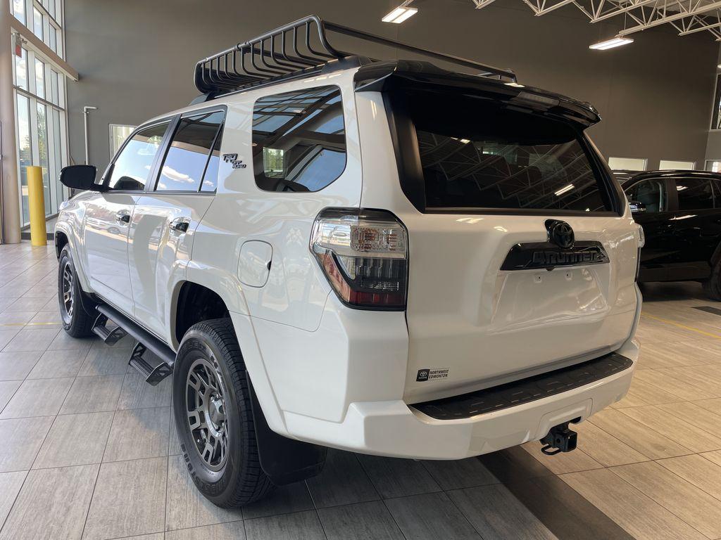 White 2020 Toyota 4Runner 4DR 4WD Left Rear Corner Photo in Edmonton AB