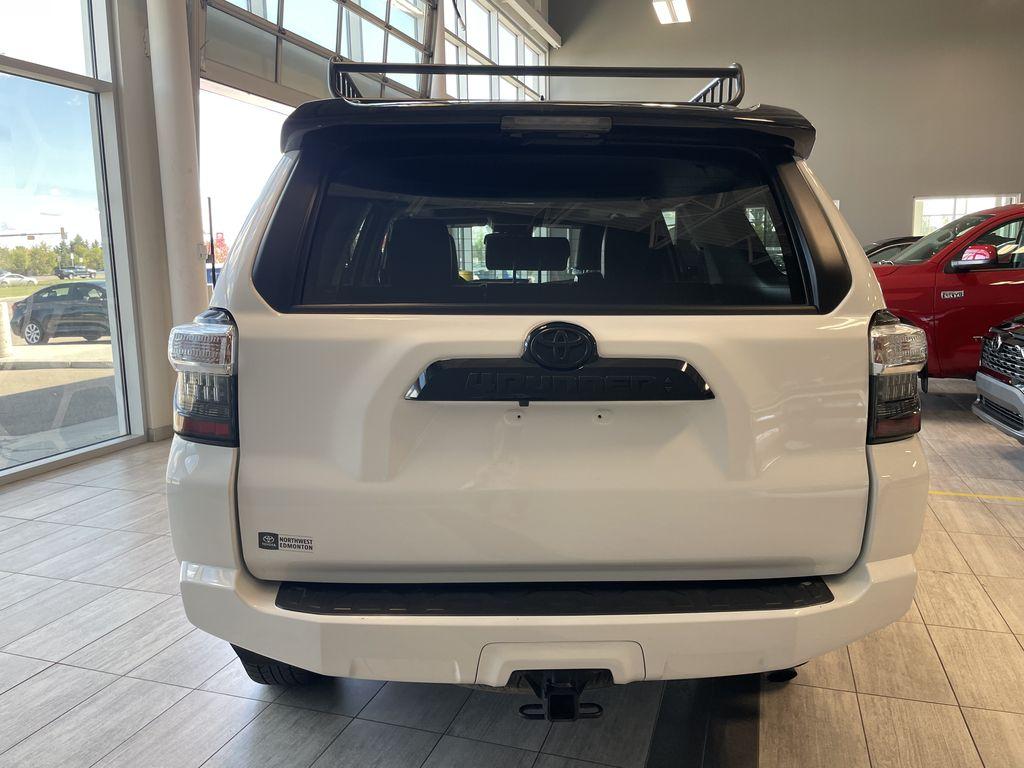 White 2020 Toyota 4Runner 4DR 4WD Trunk / Cargo Area Photo in Edmonton AB