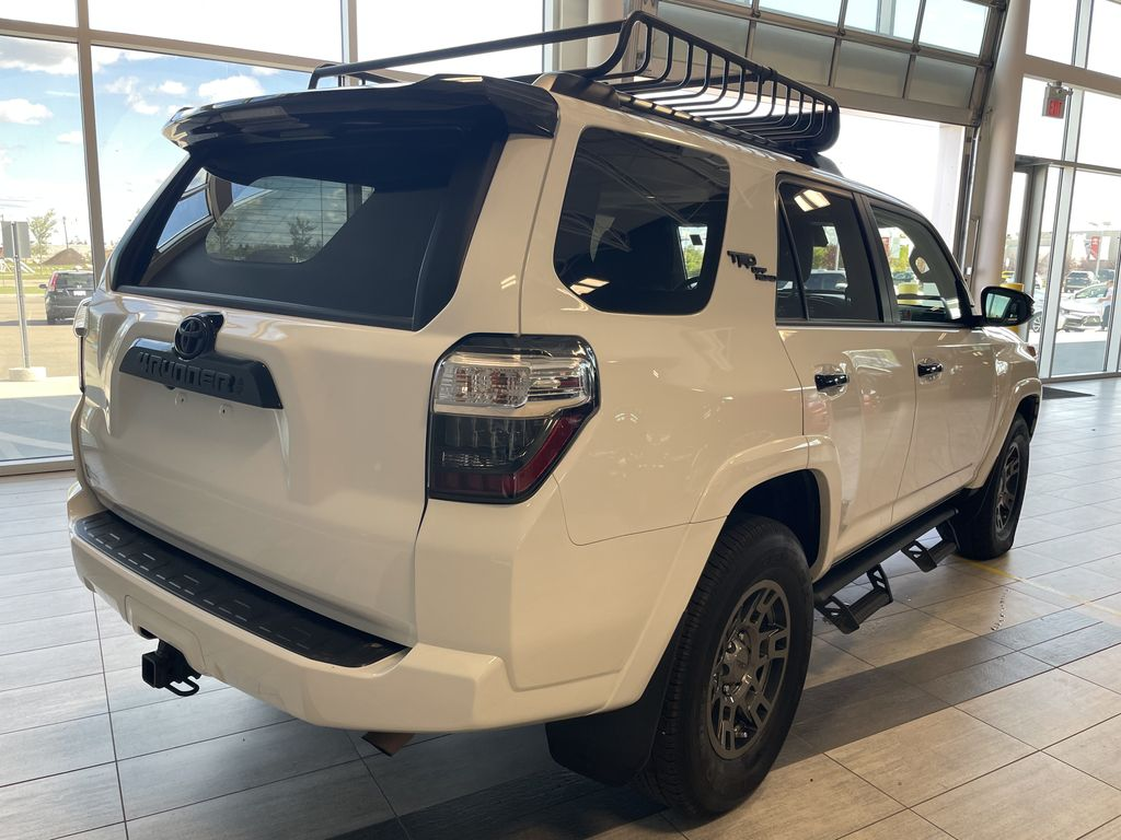 White 2020 Toyota 4Runner 4DR 4WD Rear of Vehicle Photo in Edmonton AB