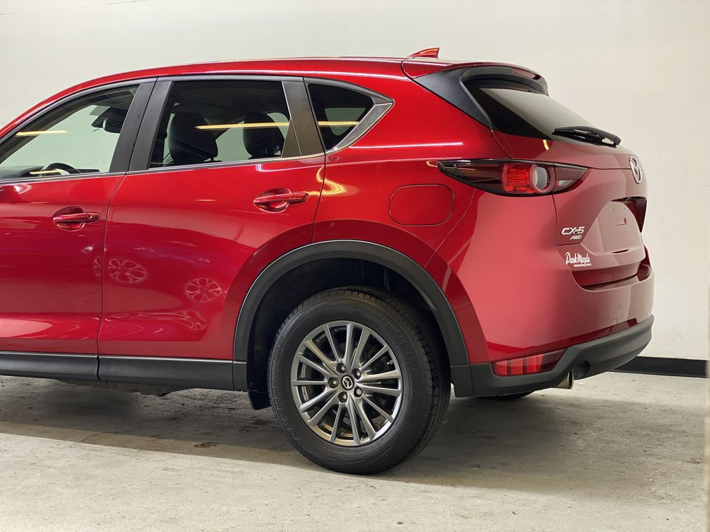 SOUL RED CRYSTAL METALLIC 2017 Mazda CX-5 GS AWD - Remote Start, Bluetooth, Backup Camera Left Rear Corner Photo in Edmonton AB