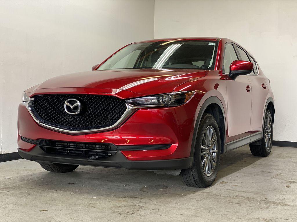 SOUL RED CRYSTAL METALLIC 2017 Mazda CX-5 GS AWD - Remote Start, Bluetooth, Backup Camera Left Front Corner Photo in Edmonton AB