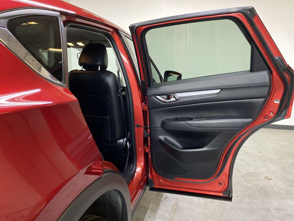 SOUL RED CRYSTAL METALLIC 2017 Mazda CX-5 GS AWD - Remote Start, Bluetooth, Backup Camera Right Rear Interior Door Panel Photo in Edmonton AB