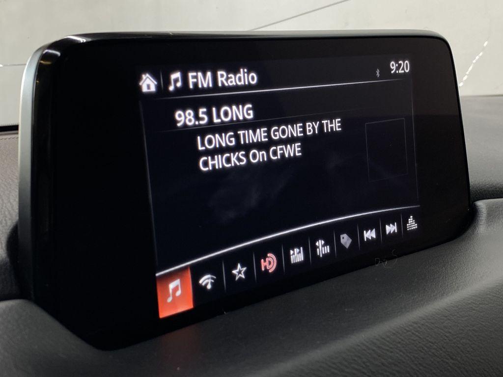 SOUL RED CRYSTAL METALLIC 2017 Mazda CX-5 GS AWD - Remote Start, Bluetooth, Backup Camera Radio Controls Closeup Photo in Edmonton AB