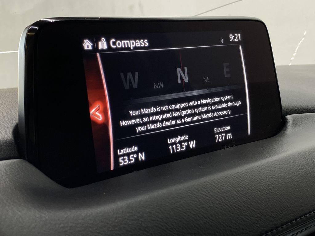 SOUL RED CRYSTAL METALLIC 2017 Mazda CX-5 GS AWD - Remote Start, Bluetooth, Backup Camera Navigation Screen Closeup Photo in Edmonton AB