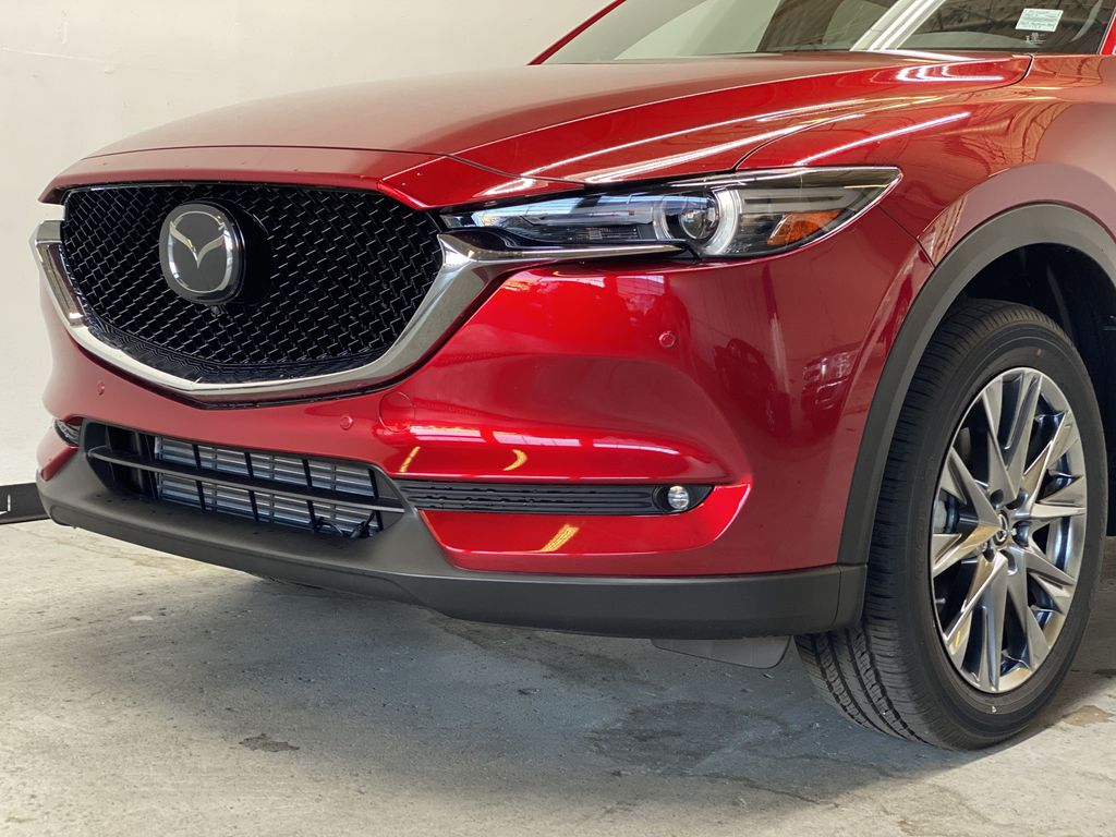 SOUL RED CRYSTAL METALLIC(46V) 2021.5 Mazda CX-5 Signature AWD Left Front Head Light / Bumper and Grill in Edmonton AB