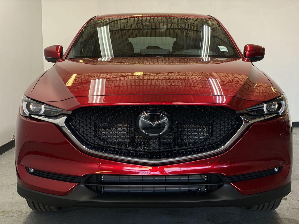SOUL RED CRYSTAL METALLIC(46V) 2021.5 Mazda CX-5 Signature AWD Front Vehicle Photo in Edmonton AB