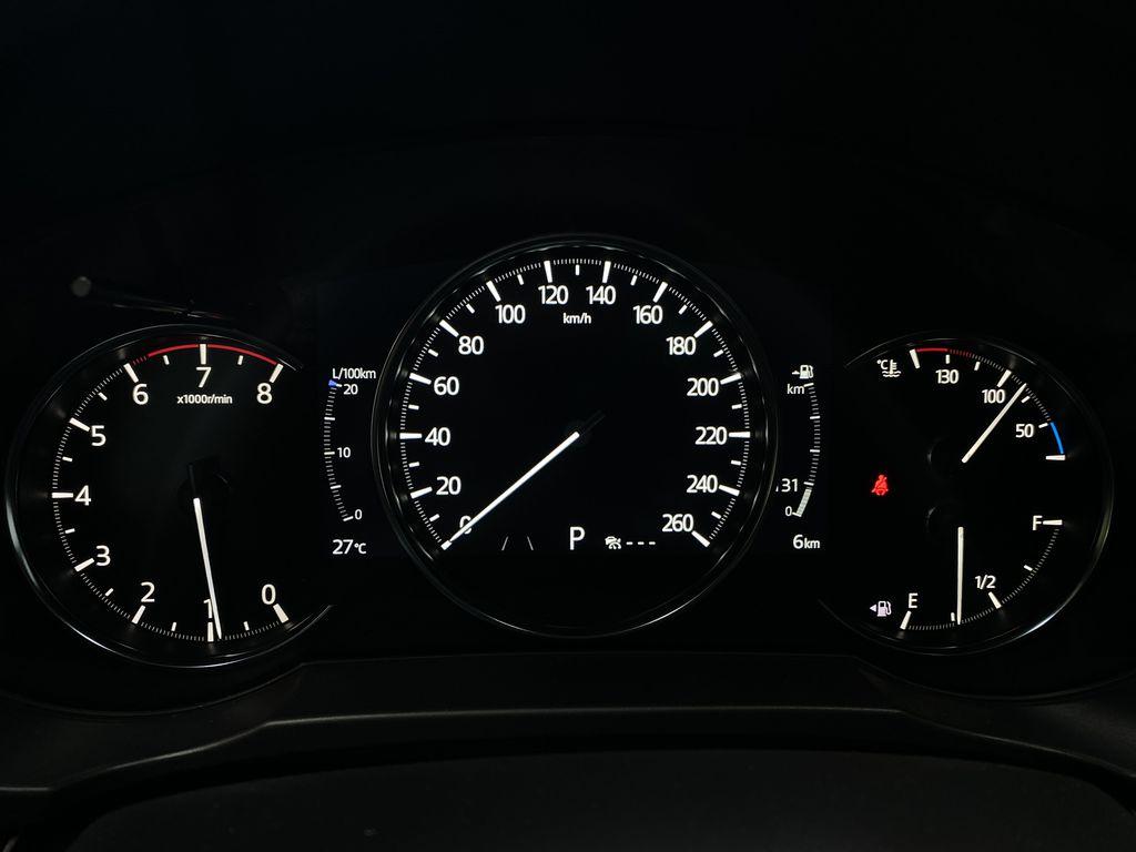SOUL RED CRYSTAL METALLIC(46V) 2021.5 Mazda CX-5 Signature AWD Odometer Photo in Edmonton AB