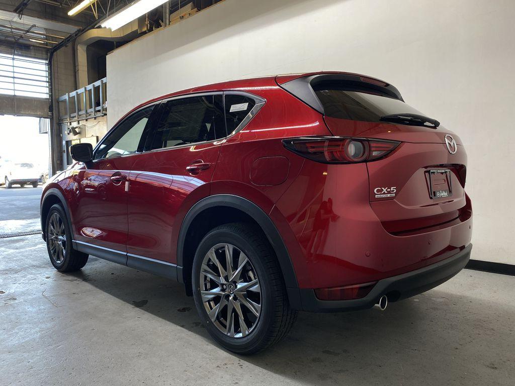SOUL RED CRYSTAL METALLIC(46V) 2021.5 Mazda CX-5 Signature AWD Left Rear Corner Photo in Edmonton AB