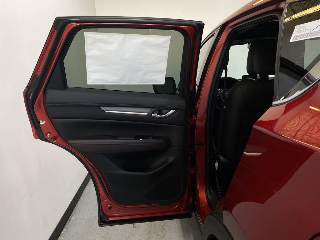 SOUL RED CRYSTAL METALLIC(46V) 2021.5 Mazda CX-5 Signature AWD Left Rear Interior Door Panel Photo in Edmonton AB