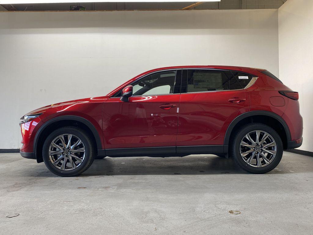 SOUL RED CRYSTAL METALLIC(46V) 2021.5 Mazda CX-5 Signature AWD Left Side Photo in Edmonton AB