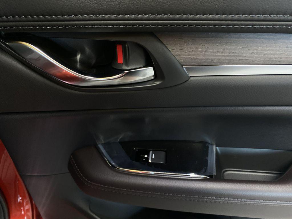 SOUL RED CRYSTAL METALLIC(46V) 2021.5 Mazda CX-5 Signature AWD Passenger Rear Door Controls Photo in Edmonton AB