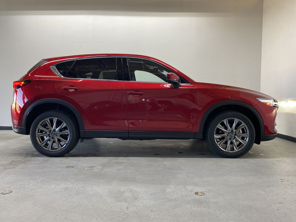 SOUL RED CRYSTAL METALLIC(46V) 2021.5 Mazda CX-5 Signature AWD Right Side Photo in Edmonton AB