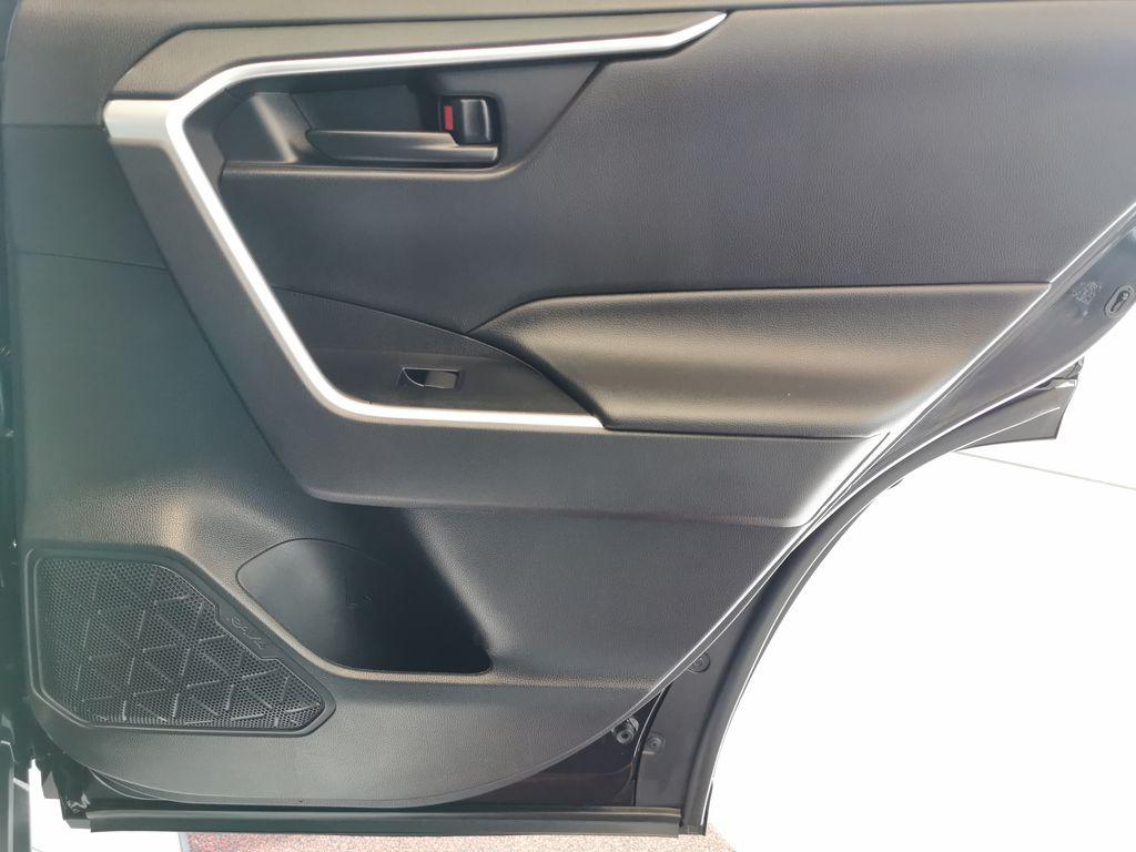 Black[Midnight Black Metallic] 2021 Toyota RAV4 Right Rear Interior Door Panel Photo in Edmonton AB