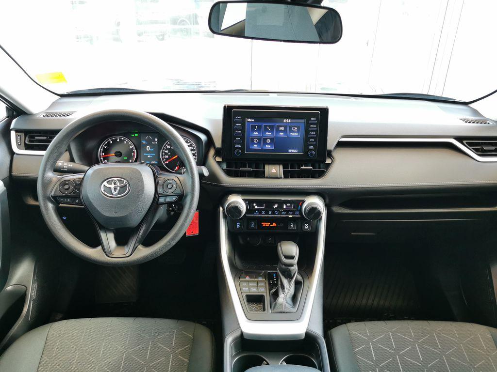 Black[Midnight Black Metallic] 2021 Toyota RAV4 Strng Wheel: Frm Rear in Edmonton AB