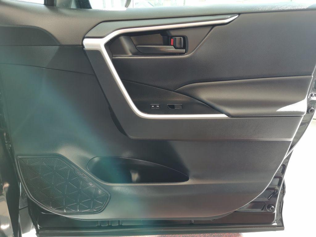 Black[Midnight Black Metallic] 2021 Toyota RAV4 Right Front Interior Door Panel Photo in Edmonton AB