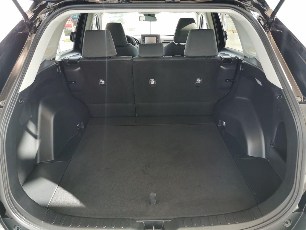 Black[Midnight Black Metallic] 2021 Toyota RAV4 Trunk / Cargo Area Photo in Edmonton AB