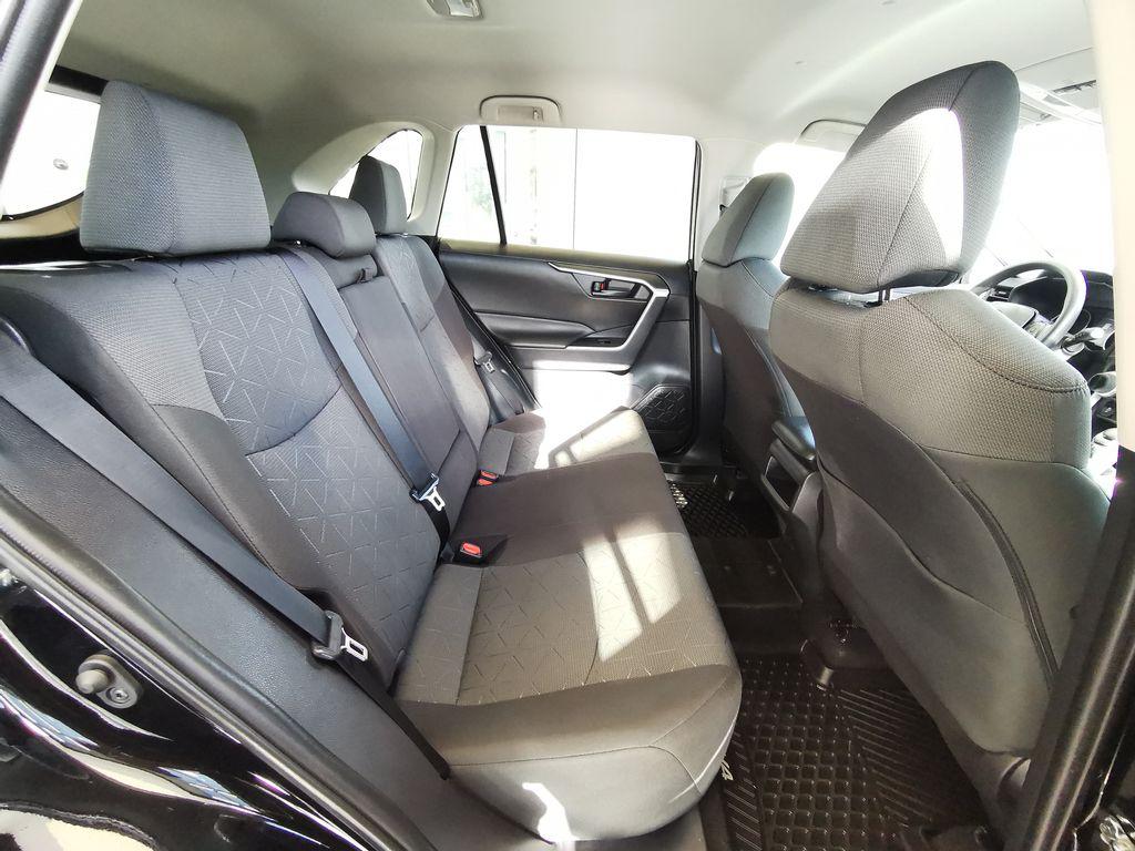 Black[Midnight Black Metallic] 2021 Toyota RAV4 Right Side Rear Seat  Photo in Edmonton AB