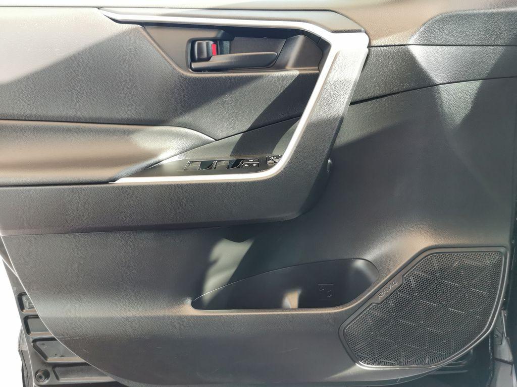 Black[Midnight Black Metallic] 2021 Toyota RAV4 Left Front Interior Door Panel Photo in Edmonton AB