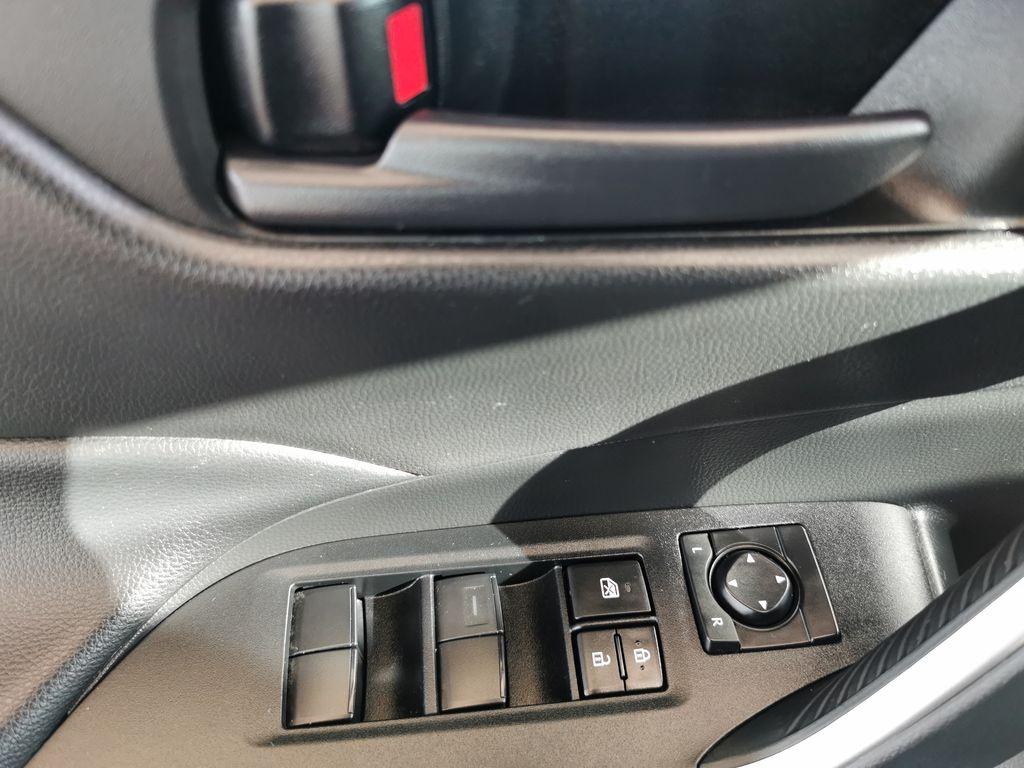 Black[Midnight Black Metallic] 2021 Toyota RAV4  Driver's Side Door Controls Photo in Edmonton AB