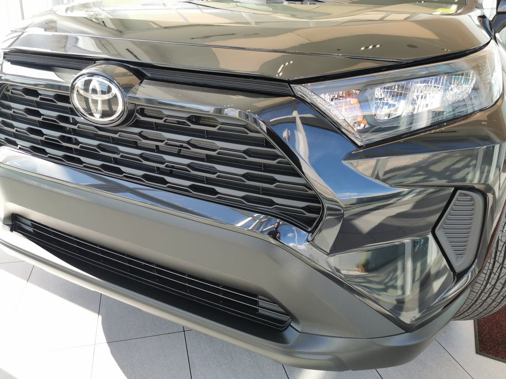 Black[Midnight Black Metallic] 2021 Toyota RAV4 Left Front Head Light / Bumper and Grill in Edmonton AB