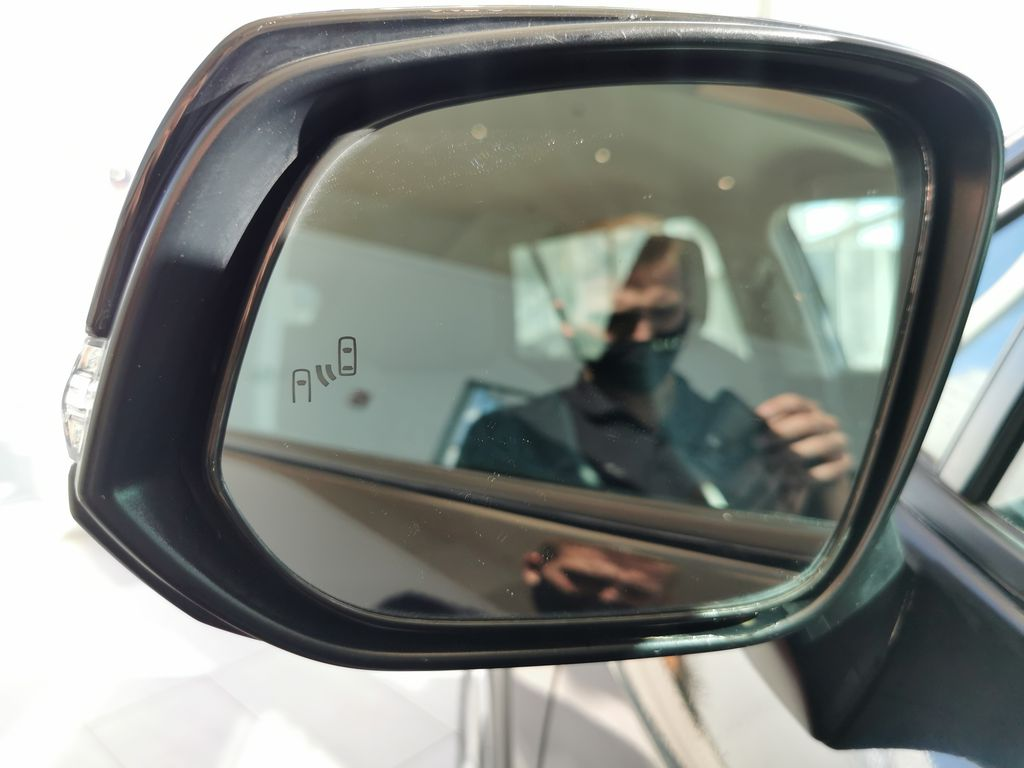 Black[Midnight Black Metallic] 2021 Toyota RAV4 LR Door Panel Ctls Photo in Edmonton AB