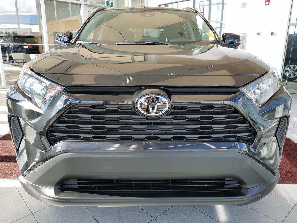 Black[Midnight Black Metallic] 2021 Toyota RAV4 Front Vehicle Photo in Edmonton AB