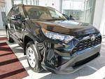 Black[Midnight Black Metallic] 2021 Toyota RAV4 Right Front Corner Photo in Edmonton AB