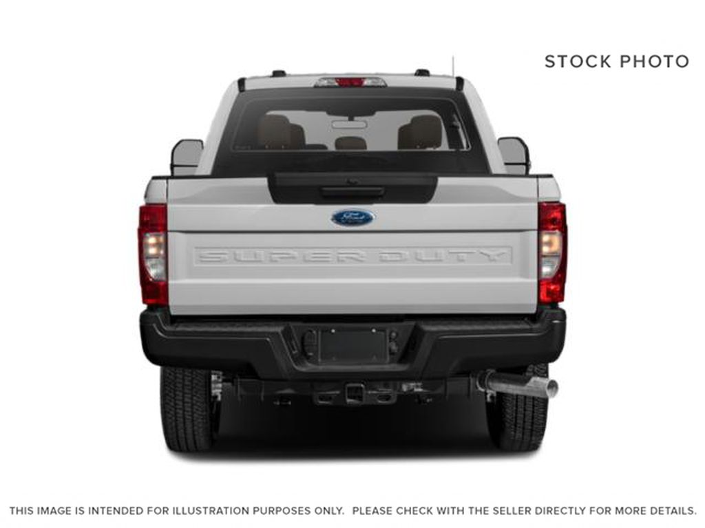 White[Oxford White] 2020 Ford Super Duty F-350 SRW Rear of Vehicle Photo in Fort Macleod AB