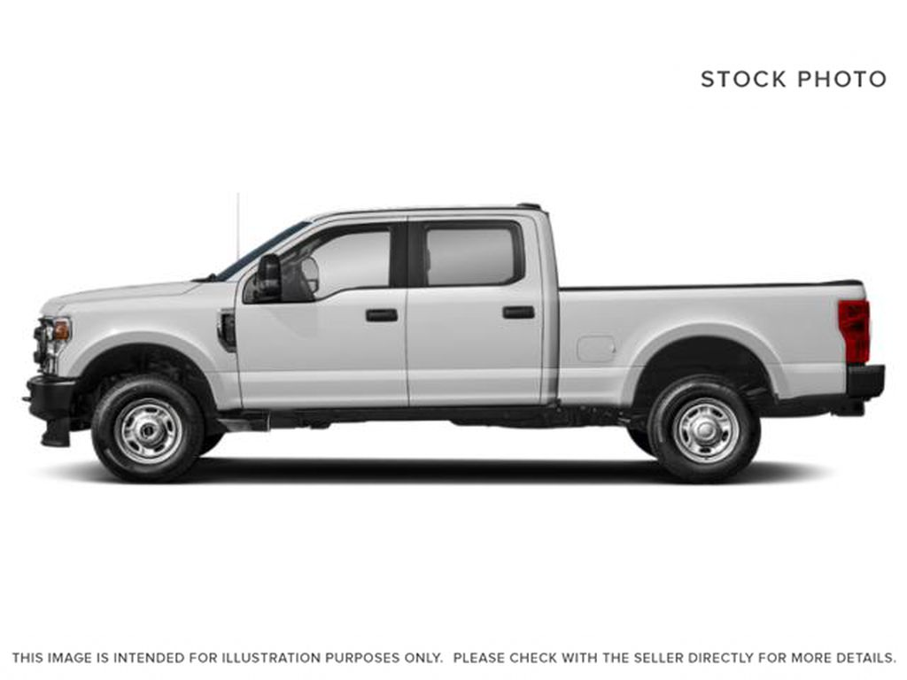 White[Oxford White] 2020 Ford Super Duty F-350 SRW Left Side Photo in Fort Macleod AB