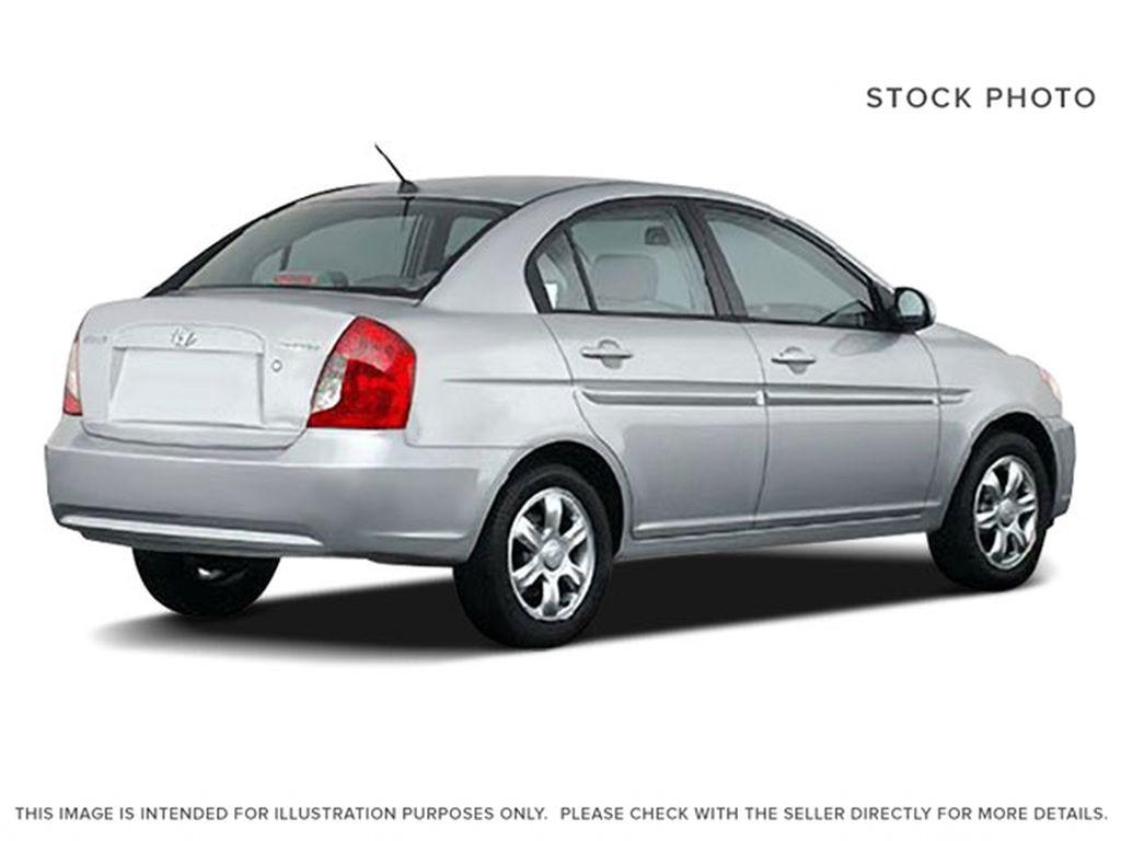 Gray[Midnight Grey Pearl] 2009 Hyundai Accent Right Rear Corner Photo in Ottawa ON