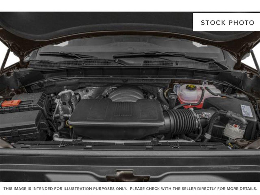 Gray[Satin Steel Metallic] 2021 GMC Sierra 1500 AT4 Engine Compartment Photo in Calgary AB