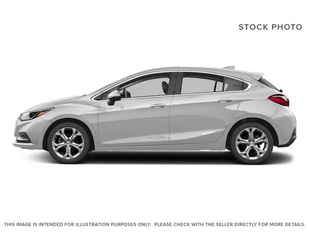 Silver[Silver Ice Metallic] 2018 Chevrolet Cruze Premier Left Side Photo in Calgary AB