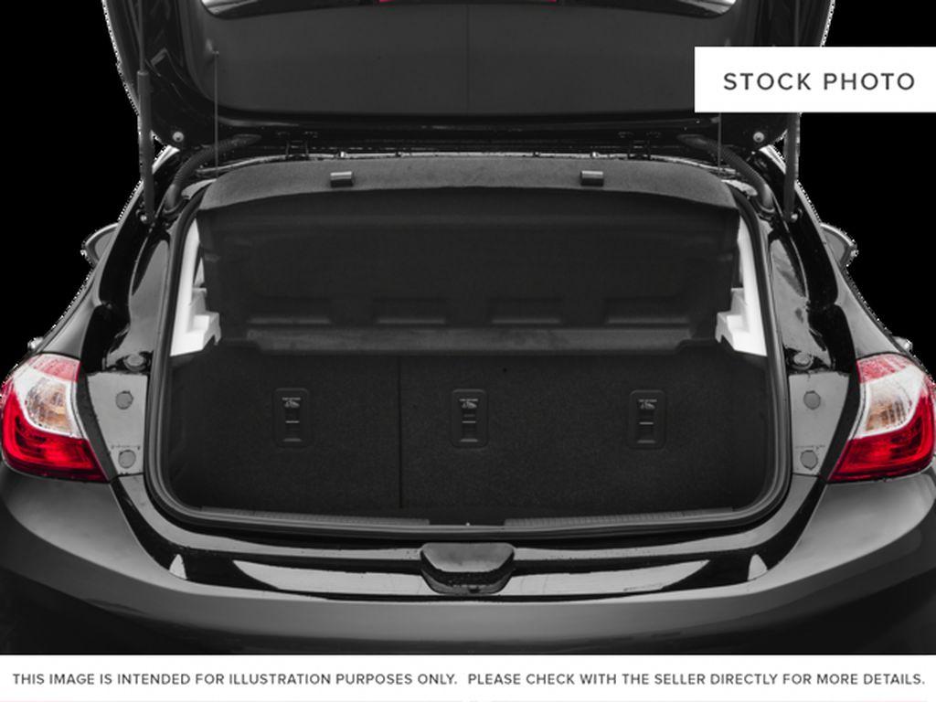 Silver[Silver Ice Metallic] 2018 Chevrolet Cruze Premier Trunk / Cargo Area Photo in Calgary AB