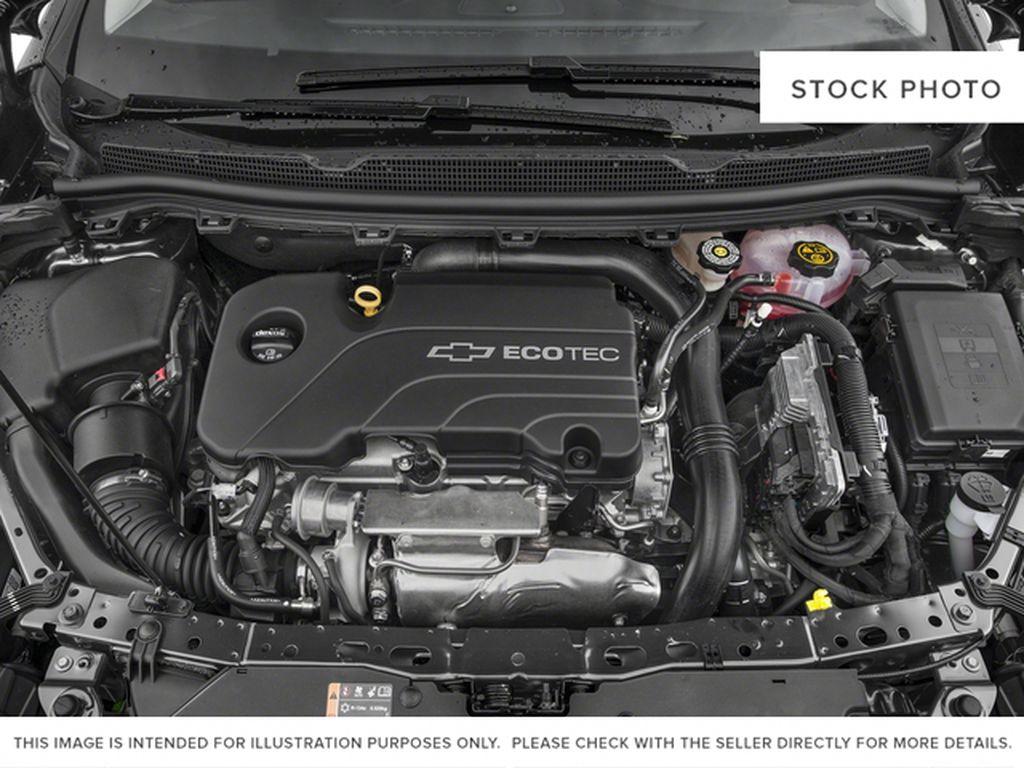 Silver[Silver Ice Metallic] 2018 Chevrolet Cruze Premier Engine Compartment Photo in Calgary AB