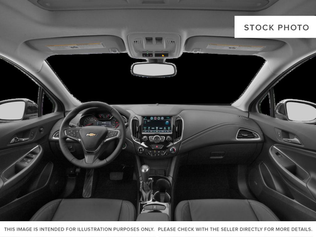 Silver[Silver Ice Metallic] 2018 Chevrolet Cruze Premier Central Dash Options Photo in Calgary AB