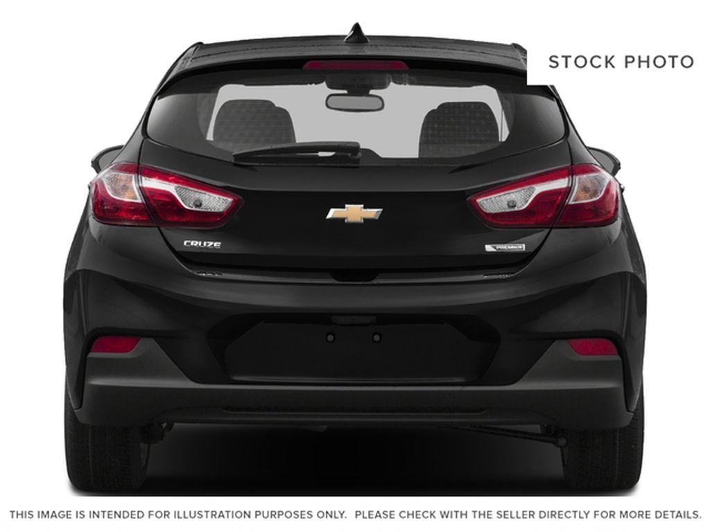 Silver[Silver Ice Metallic] 2018 Chevrolet Cruze Premier Rear of Vehicle Photo in Calgary AB