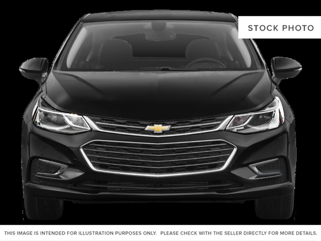 Silver[Silver Ice Metallic] 2018 Chevrolet Cruze Premier Front Vehicle Photo in Calgary AB