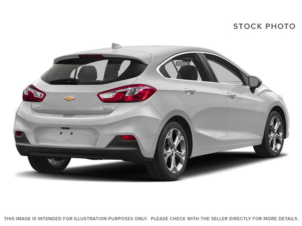 Silver[Silver Ice Metallic] 2018 Chevrolet Cruze Premier Right Rear Corner Photo in Calgary AB