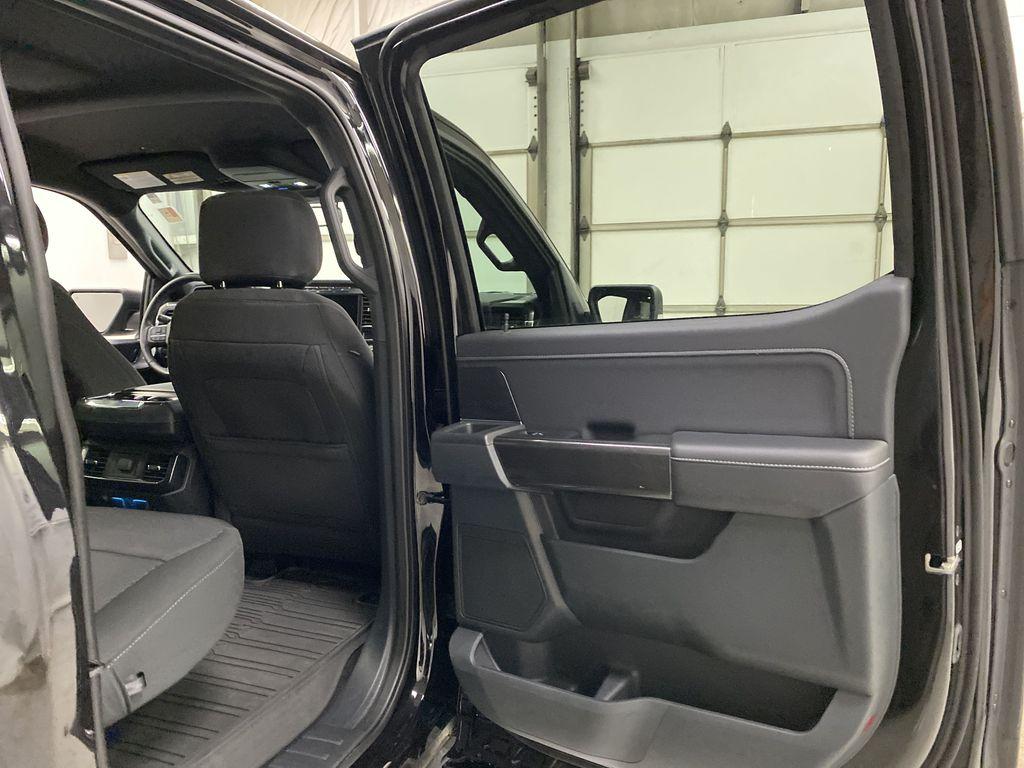 Black[Agate Black Metallic] 2021 Ford F-150 Right Rear Interior Door Panel Photo in Dartmouth NS