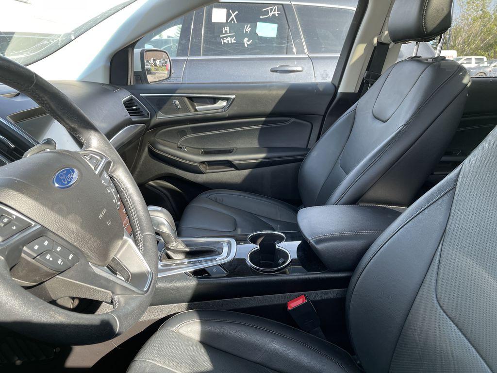 WHITE 2017 Ford Edge Titanium  Driver's Side Door Controls Photo in Edmonton AB