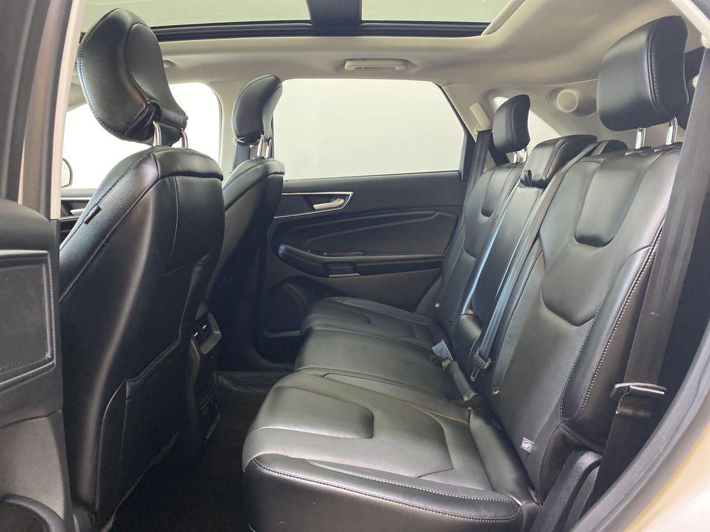 WHITE 2017 Ford Edge Titanium - NAV, Apple CarPlay, Remote Start Left Side Rear Seat  Photo in Edmonton AB